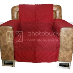 Arm Chair Covers Ebay Rustic Lounge Sofa Furniture Pet Dog Protector Quilted Slip