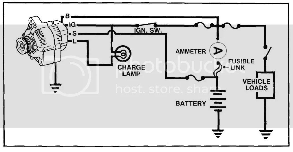 Denso Alternator Wiring Schematic : 33 Wiring Diagram