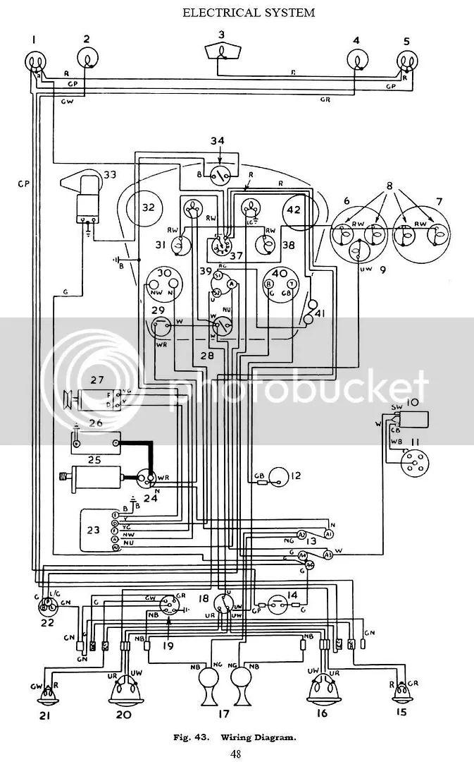 1966 barracuda dash wiring diagram schematic