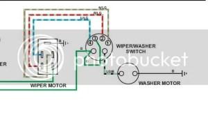 TR6 tr6 wiper motor wiring