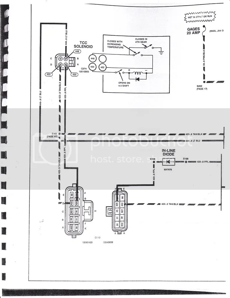 medium resolution of 1991 700r4 wiring diagram