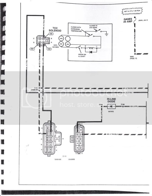 small resolution of 700r 4 wiring diagram for plug one