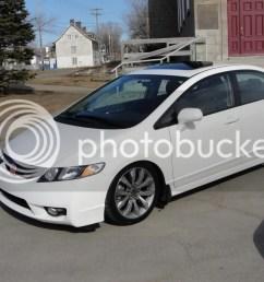 2010 white civic si su a coche p [ 1024 x 768 Pixel ]