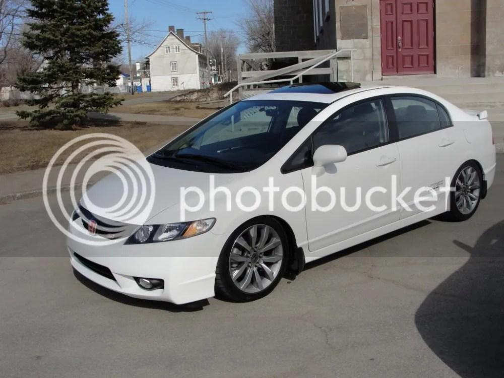 medium resolution of 2010 white civic si su a coche p