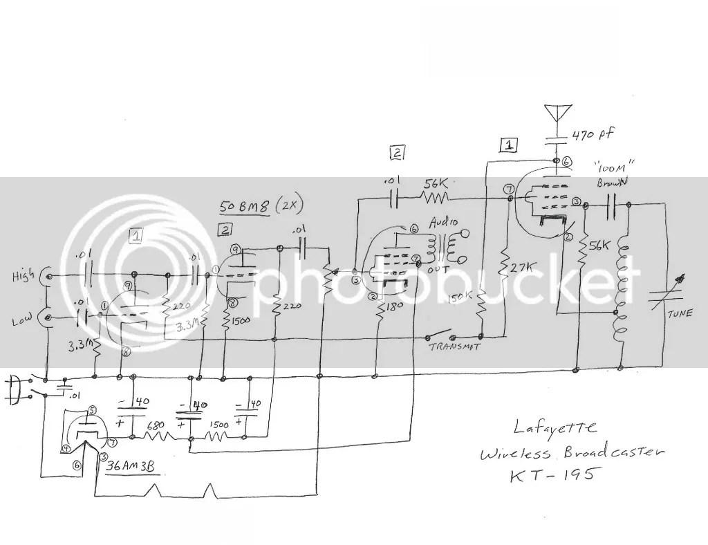 Lafayette La 23 Kt 195 Amplifier