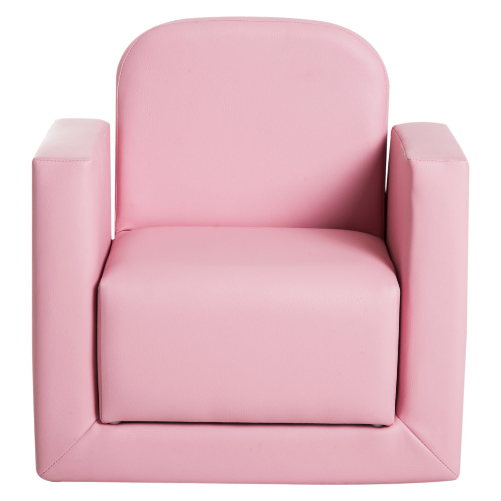 Boys Chair Homcom Kids Mini Sofa 3 In 1 Table Chair Set Armchair Seat Game Relax Playroom Seater Children Girl Boys Pink