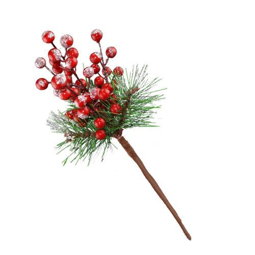 christmas artificial spray stem