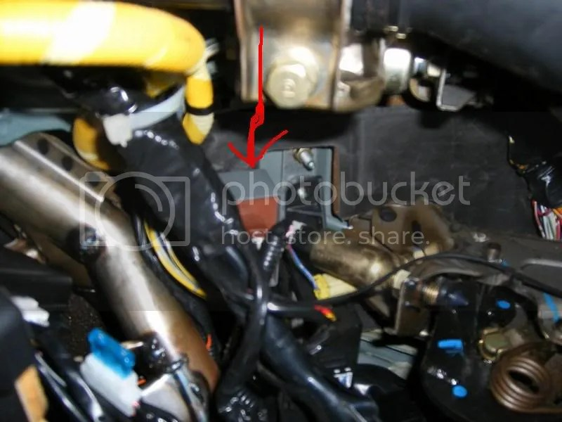 1992 Honda Accord Main Relay