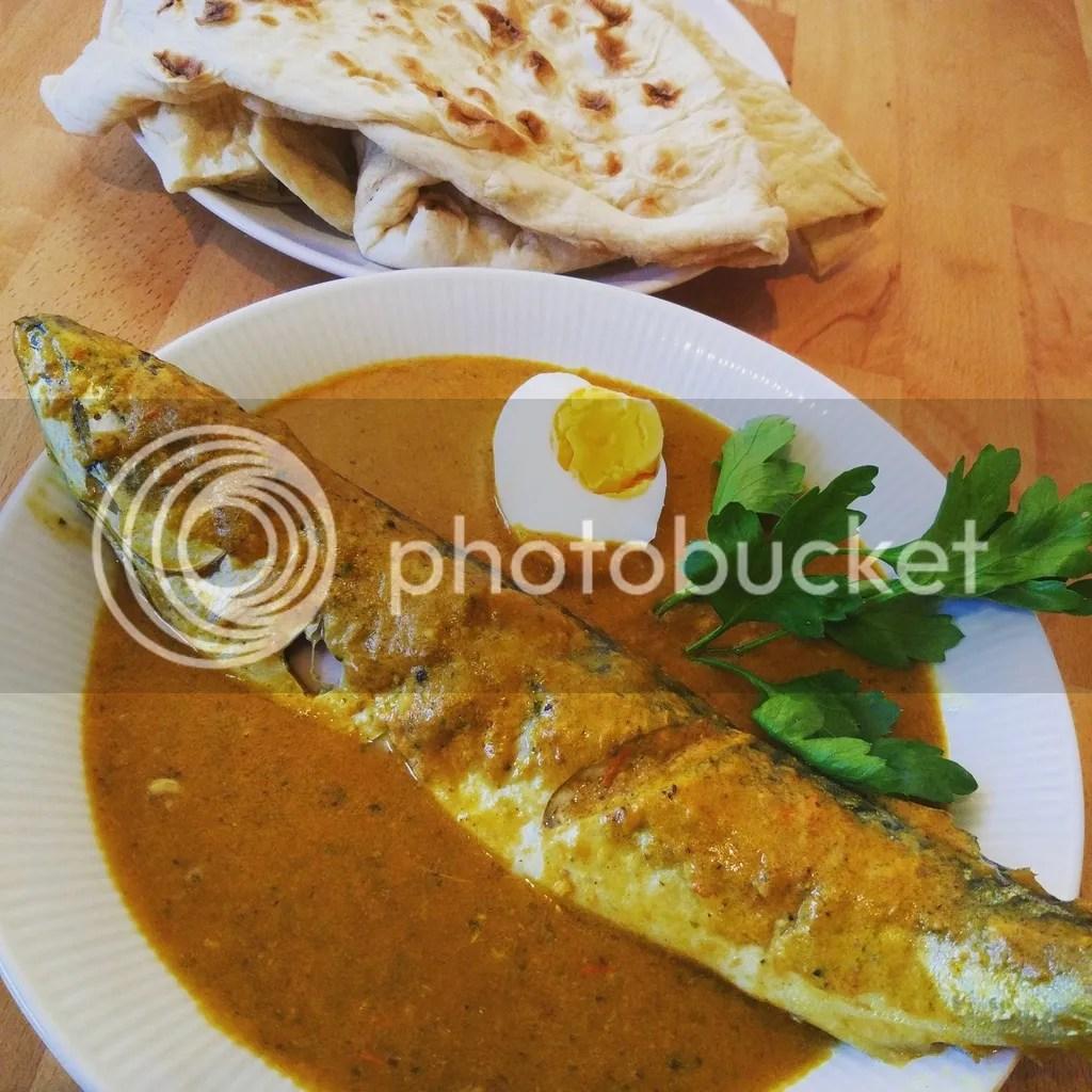 Sardine in coconut curry