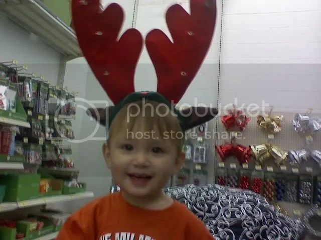 Ky and his antlers