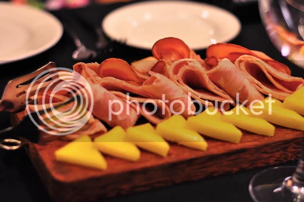 Assorted Cheese & Ham.