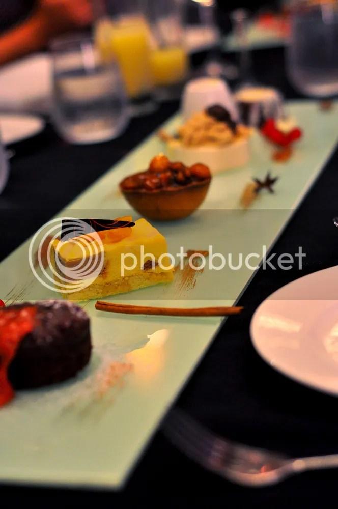 Dessert Platter.