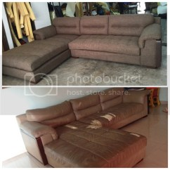 Repair Sofa Cushion Shah Alam Black Leather Singapore And Seat Upholstery Custom Bed