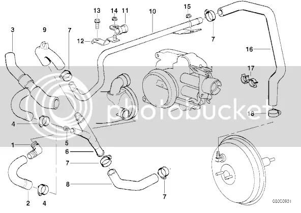 Bmw M62 Hose Diagram, Bmw, Free Engine Image For User