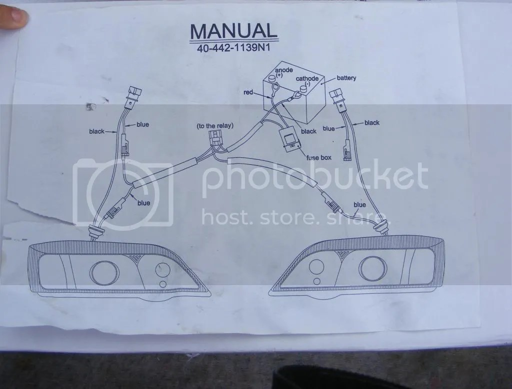 hight resolution of wiring of angel eyes headlights mk3 cavalier owners club rh vauxhallcavalier com basic headlight wiring diagram vectra b headlight