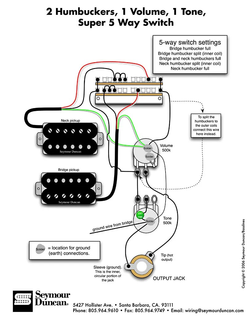 Seymour Duncan Pearly Gates Wiring Diagram : 42 Wiring