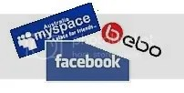 Facebook, MySpace, Bebo