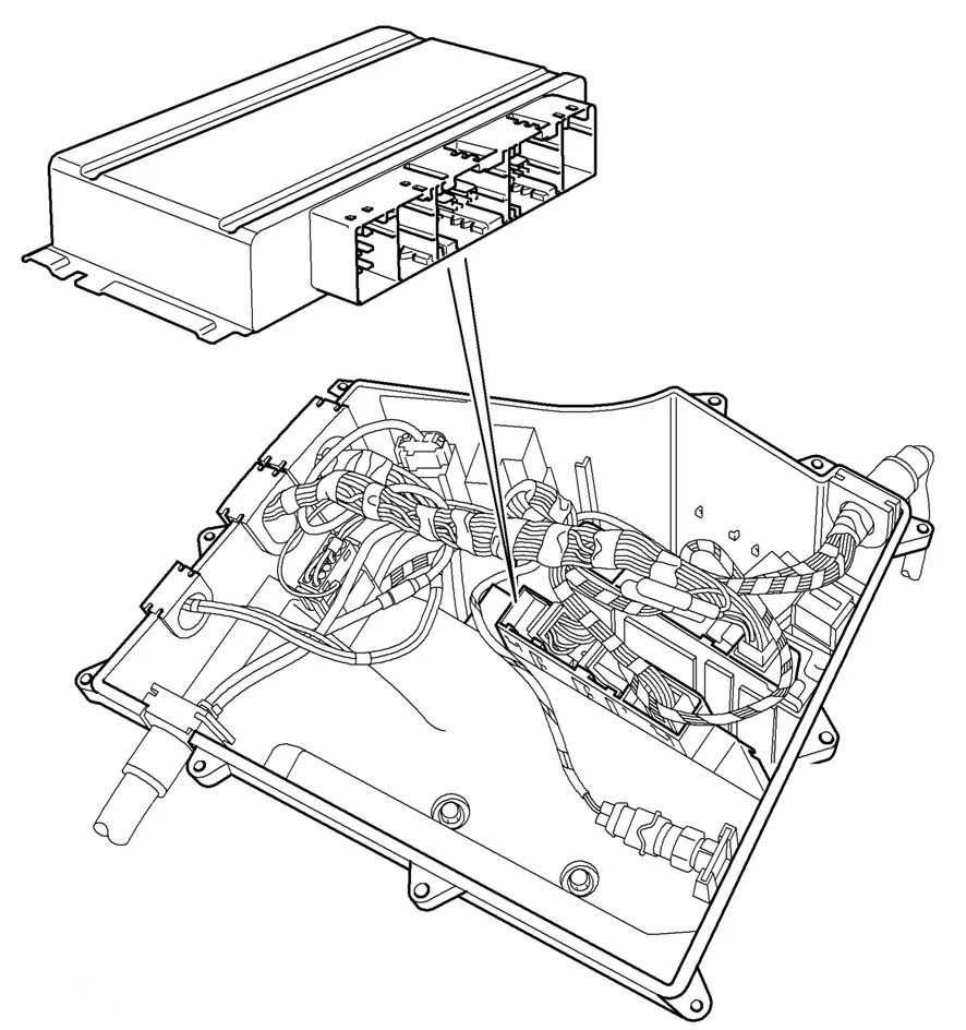 hight resolution of re 2005 rr transmission control module replacement