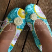 Sewing Circle Project Fabric Slippers
