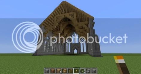 Simple Minecraft Church Interior Minecraft Church