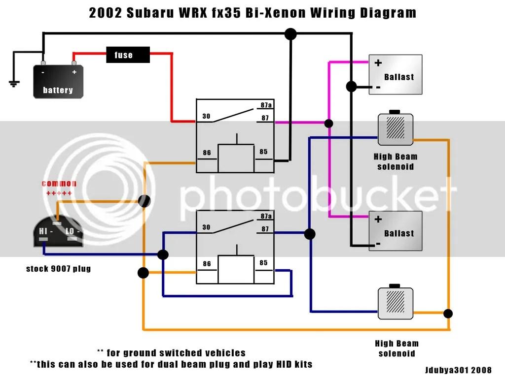 Wrx Hid Diagram | Wiring Diagram