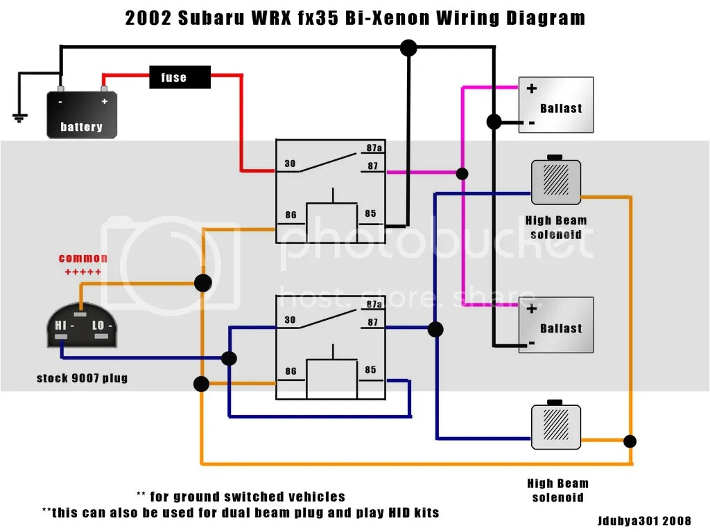 hight resolution of hid wiring diagram help nasioc rh forums nasioc com subaru ignition coil wiring diagram subaru ignition