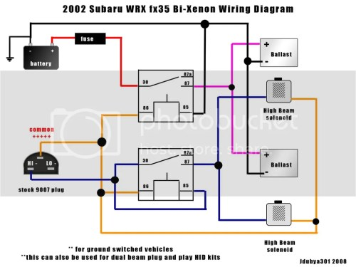 small resolution of hid wiring diagram help nasioc rh forums nasioc com subaru ignition coil wiring diagram subaru ignition
