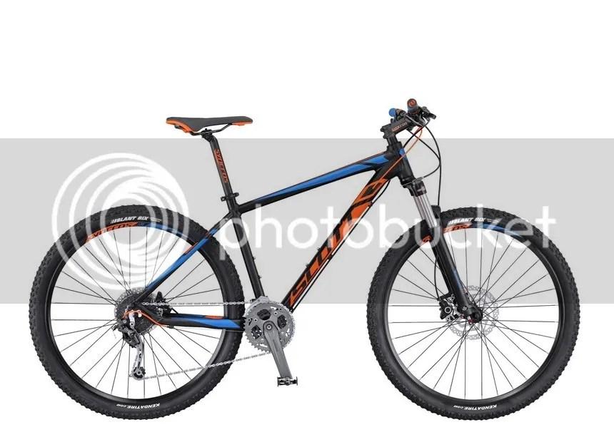 VTT vélo SCOTT Aspect 730 Frein à Disque 2016 noir orange