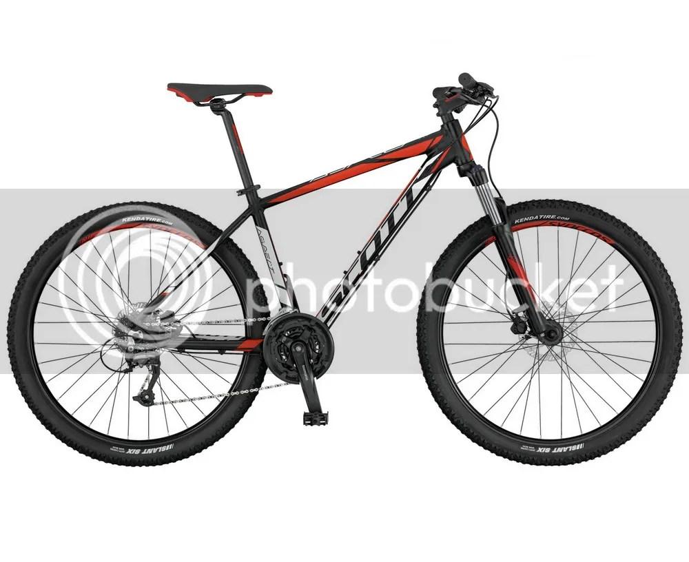 ATV bike SCOTT Aspect 950 Black Red lockout 2017 discs