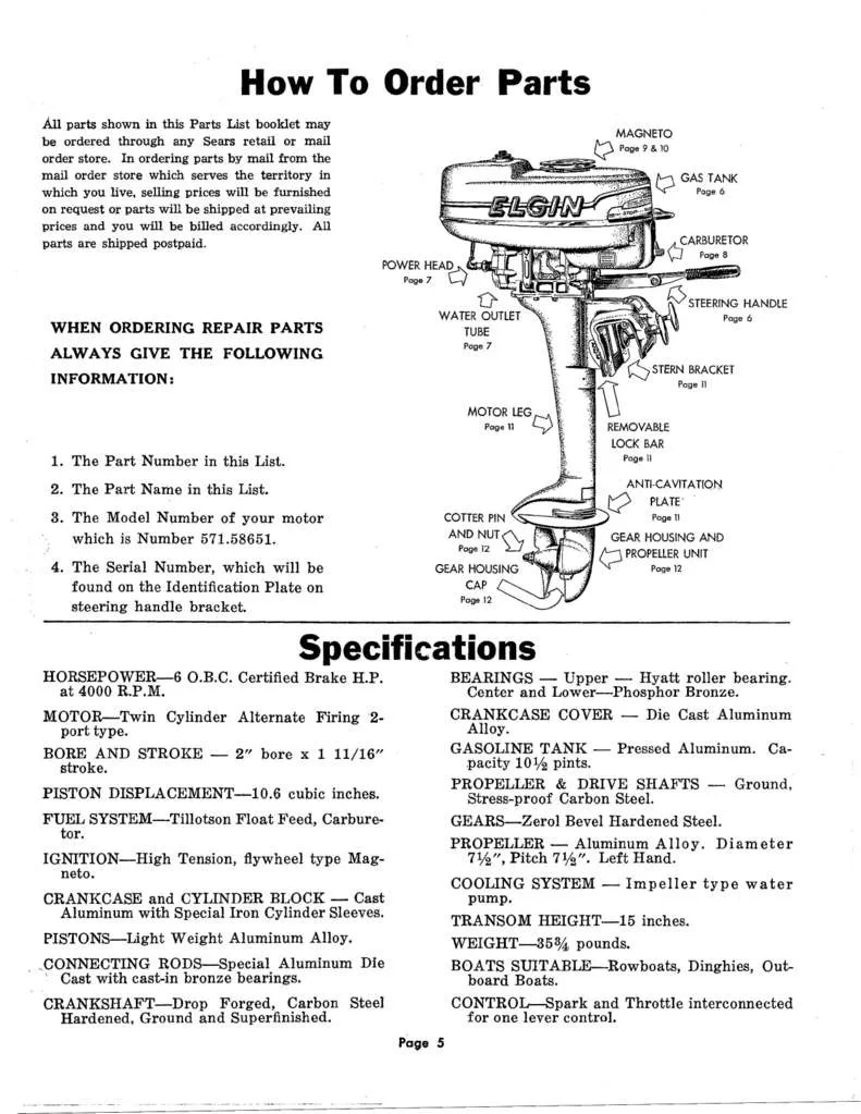 medium resolution of elgin outboard dedicated to the green elgins 1946 1956 elgin outboard repair manual