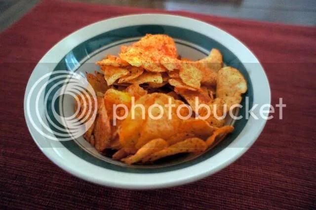 Lay's Pico de Gallo chips bowl