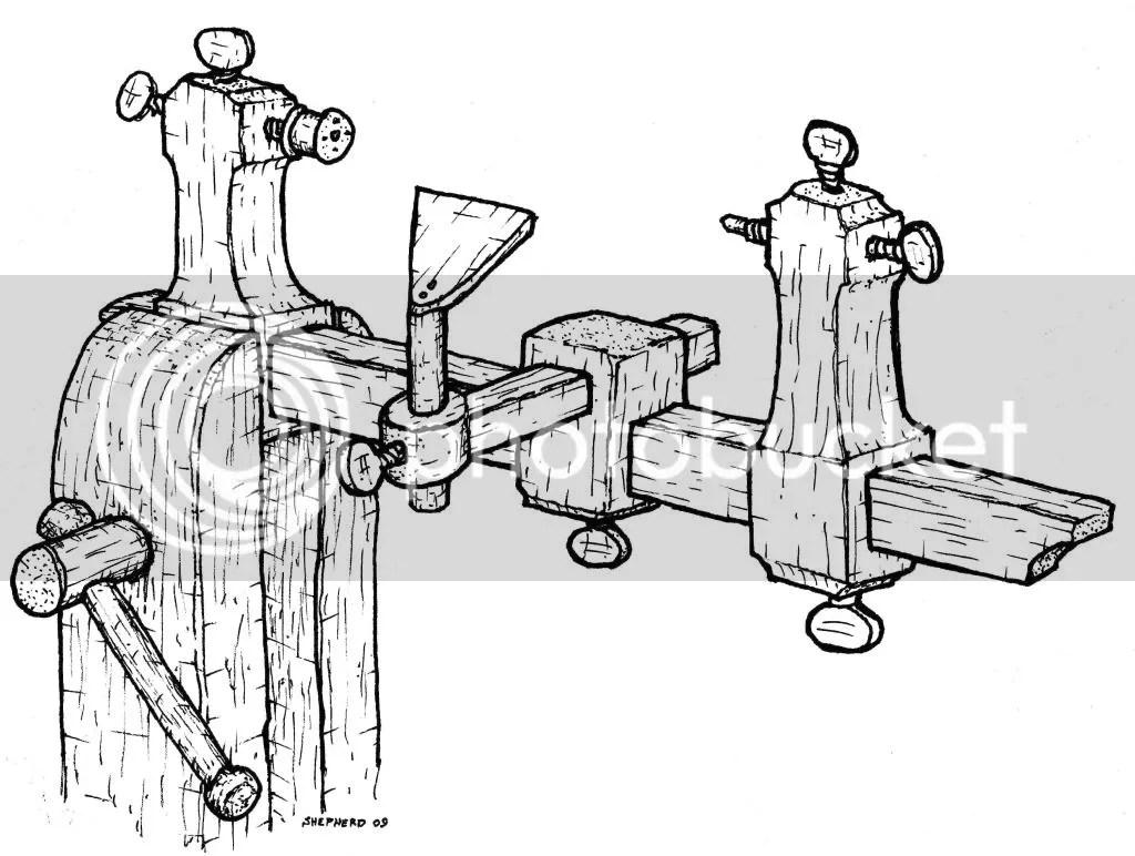 Clockmaker's Lathe Plans « Full Chisel Blog