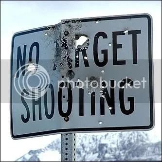 target shooting photo: NO TARGET SHOOTING notargetpractice.jpg