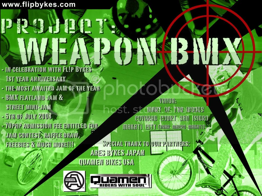 Project: Weapon BMX 2008