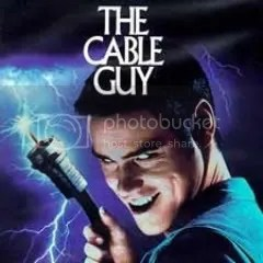 Jim Carrey as The Cable Guy
