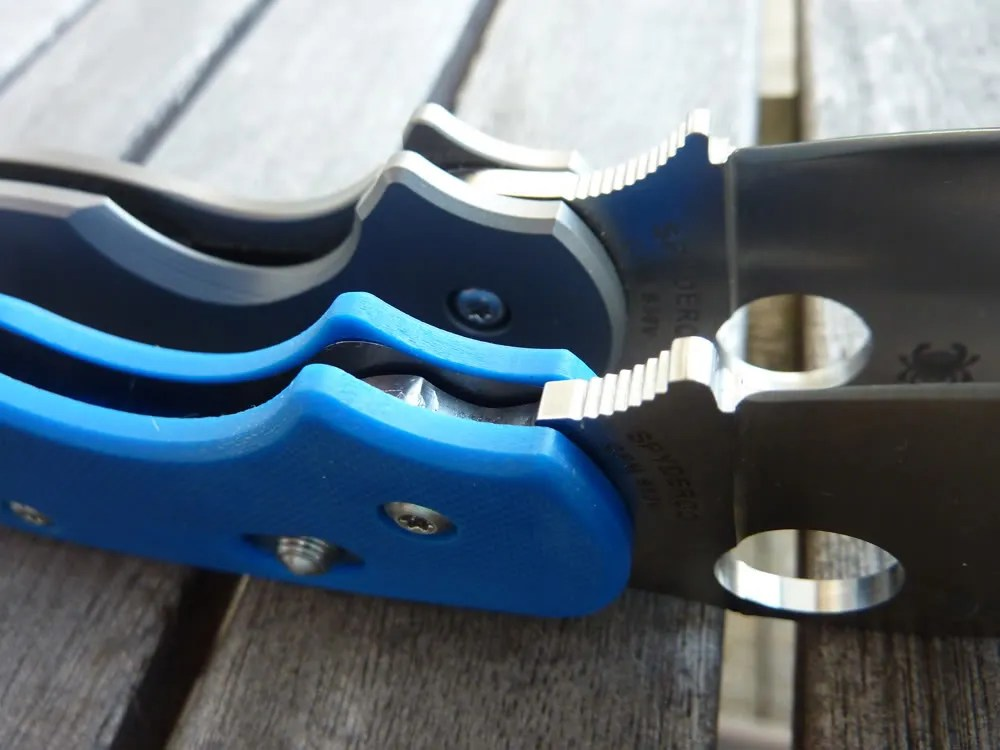 Spyderco Sage 3 The Blue Brother by Nemo Sandman