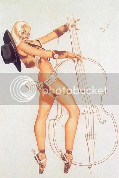 Bass Pinup