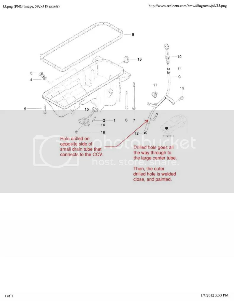 medium resolution of how to test clean redesign the original bmw dipstick guide tube bmw m54 engine diagram http wwwbimmerfestcom forums showthreadphp