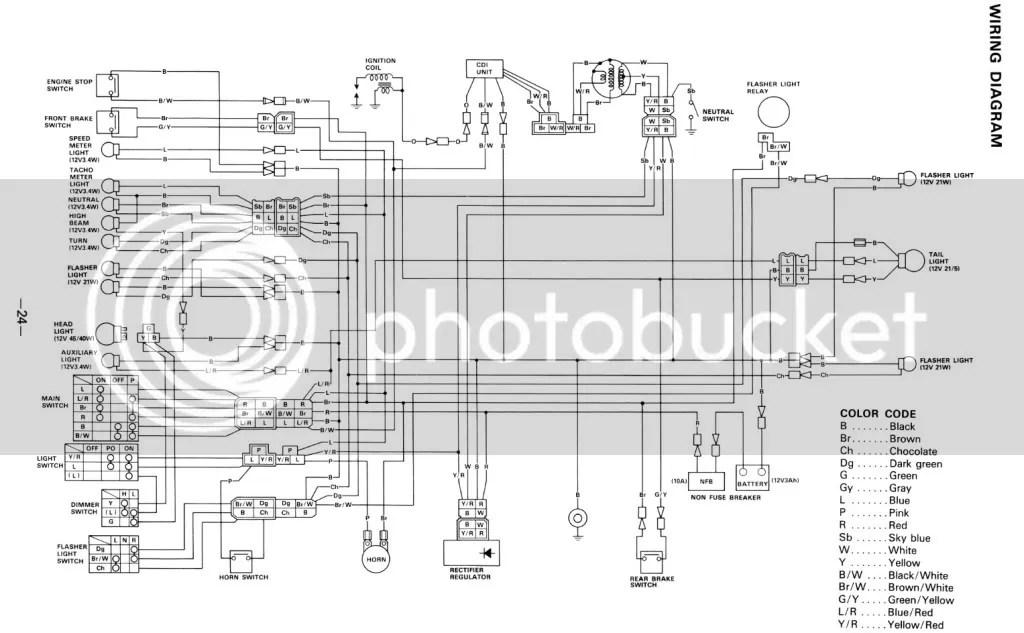 Wiring Diagram For 1986 Yamaha Xt 350, Wiring, Get Free