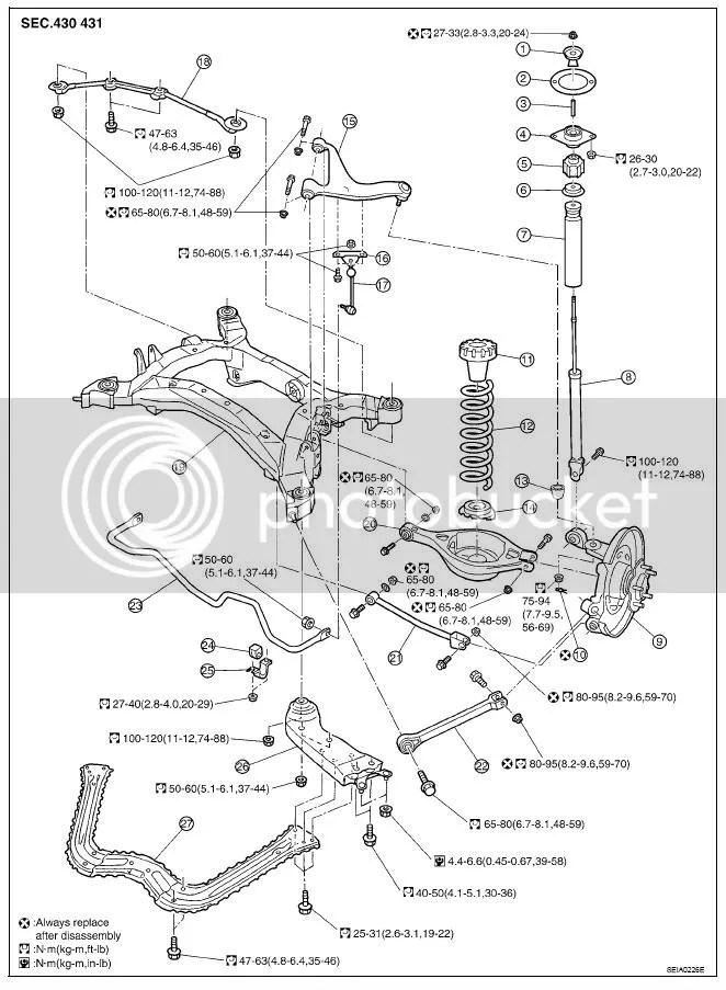 350Z/G35 Suspension Torque Specs