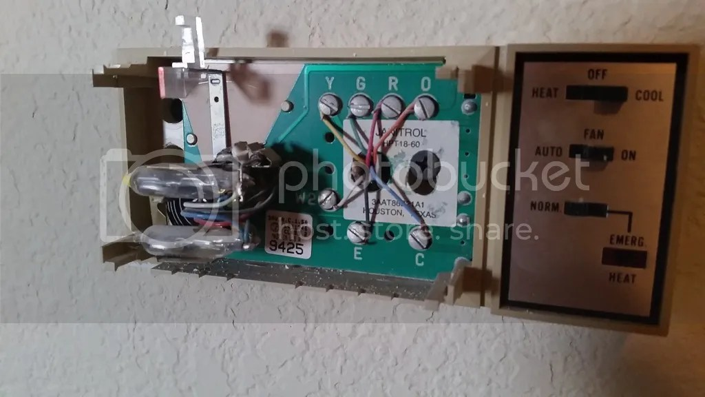 janitrol hpt18 60 thermostat wiring diagram robus room replacing a goodman hpt 18 doityourself com thoughts