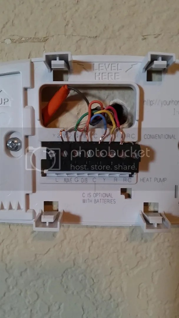 janitrol hpt18 60 thermostat wiring diagram doorbell wire replacing a goodman hpt 18 doityourself com thoughts