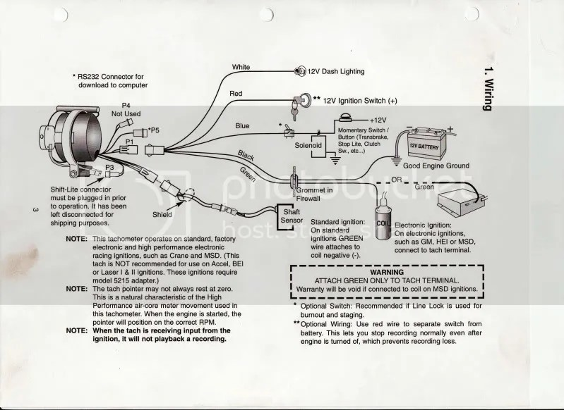 Sun Tune Mini Tach Wiring Diagram Sunpro Super Tach Wiring