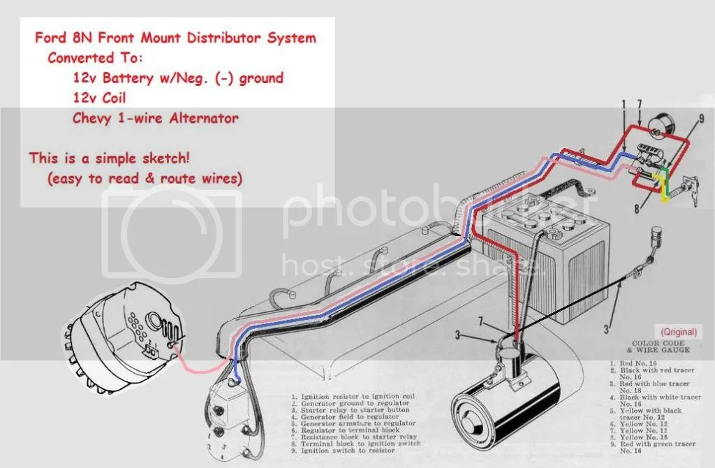 1952 ford 8n tractor wiring diagram freelander 12 volt all data harness diesel
