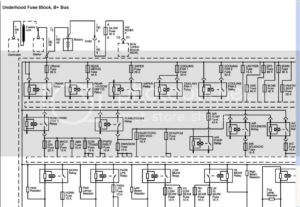 2006 Chevrolet Cobalt L4-2.0L SC VIN P Wire Diagram Photo