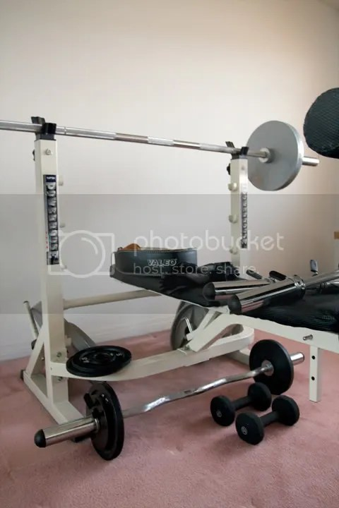 Ca Impex Powerhouse 740 Bench Olympic Bars Weights