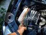 VW Passat schimbare filtru ulei - changing oil filter