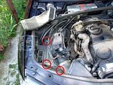VW Passat schimbarea Filtrul de aer - Changing the air filter