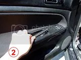 VW Passat, how to take off the inside door panel, removing, disassemble, cum se demonteaza portiera, demontarea usii, reparare portiera, tapiterie