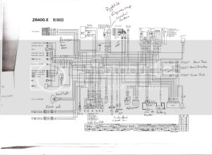Zrx400 charging probs need wiring diagram!
